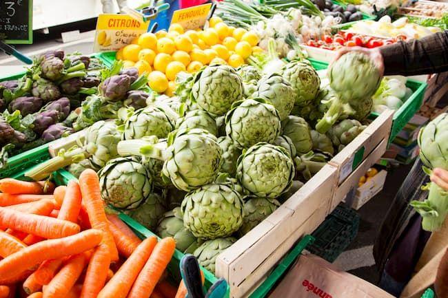 海外スーパー 野菜売り場
