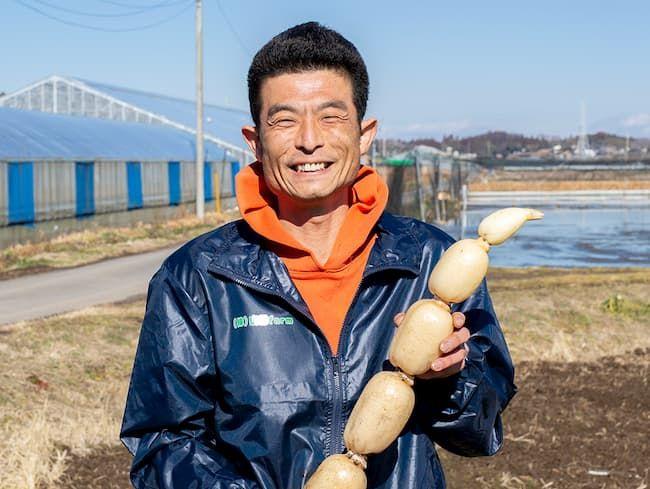 株式会社 山口farm CEO 山口正博さん