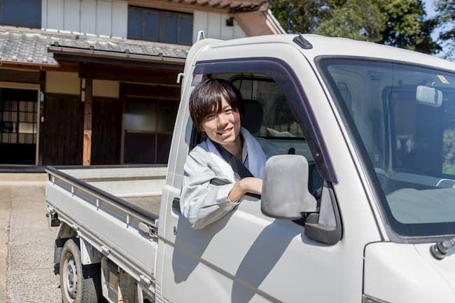 農家 若手 トラック