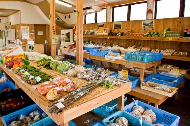 農産物直売所 野菜売り場