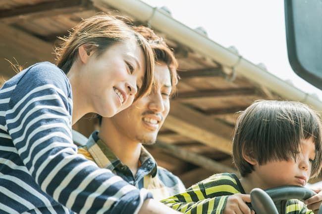 新規就農した家族のイメージ写真