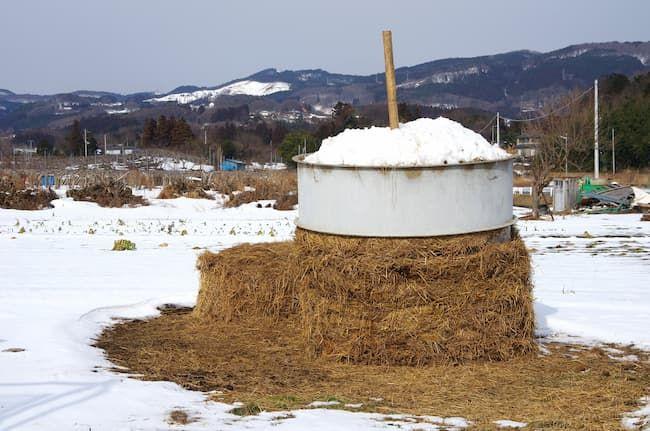稲わら堆肥