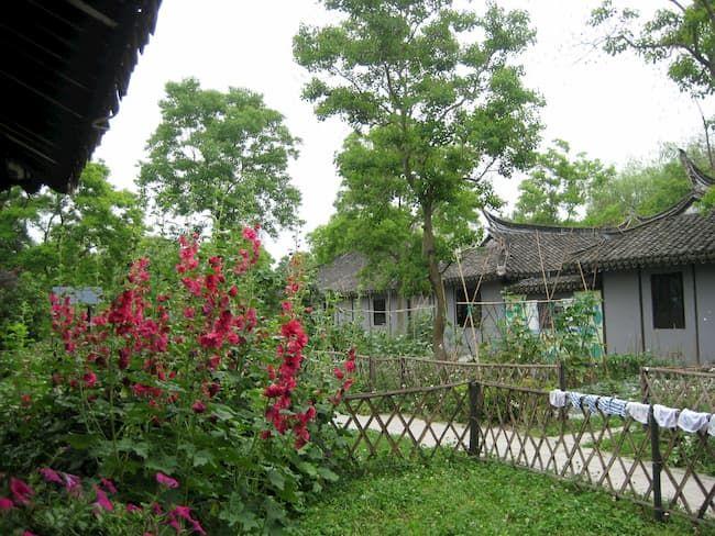 中国の農村