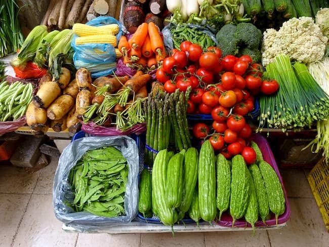 広東省 野菜 市場