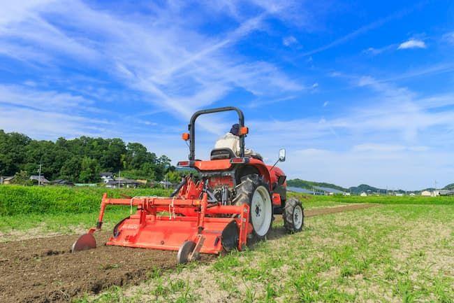 農作業 トラクター