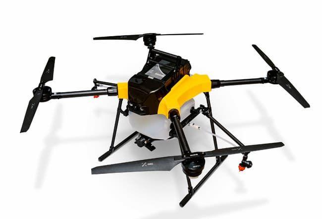 NTT e-Drone Technologyの農業用ドローン主力機種「AC101」