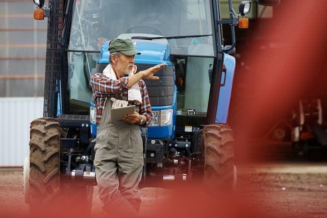 ベテラン農家とIT技術