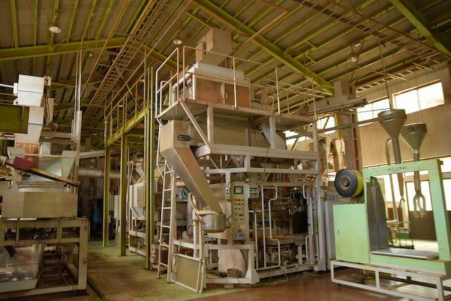 ファクトリーオートメーションを導入した深緑茶房の茶工場