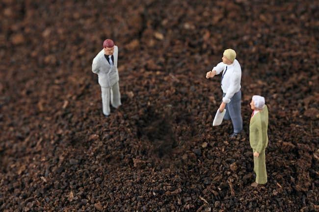 農地についての交渉 イメージ
