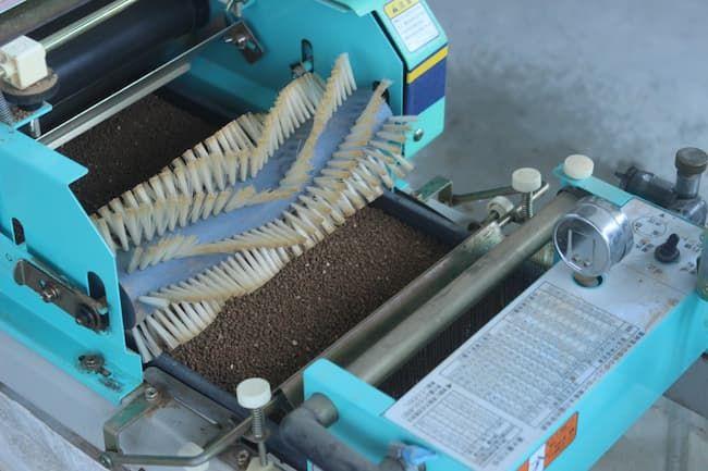 水稲の播種機