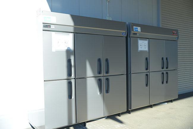 クックパッドマート 共同出荷所に設置してある冷蔵庫で商品の鮮度をキープ