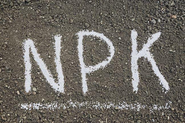 高度化成肥料はNPKの含有率が高い