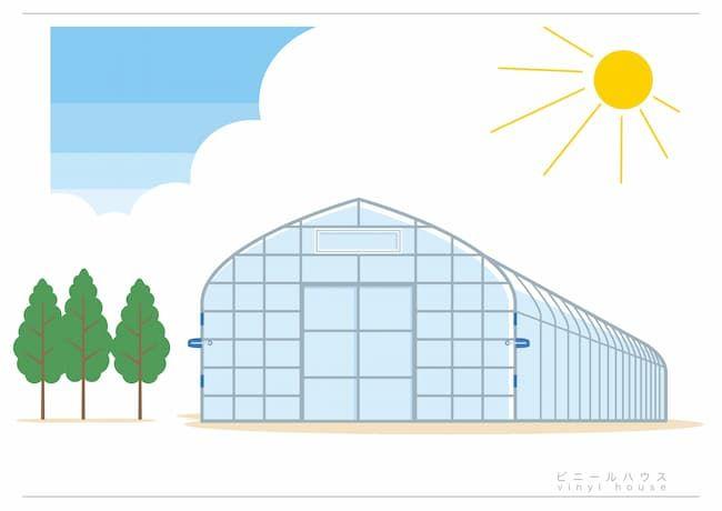 ハウス栽培(施設栽培)は高温になりやすい