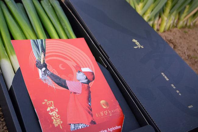 1箱1万円の『真の葱』