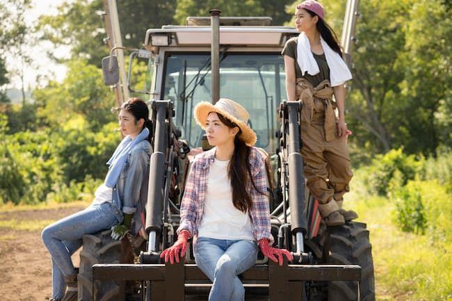 「農業女子」のおしゃれ