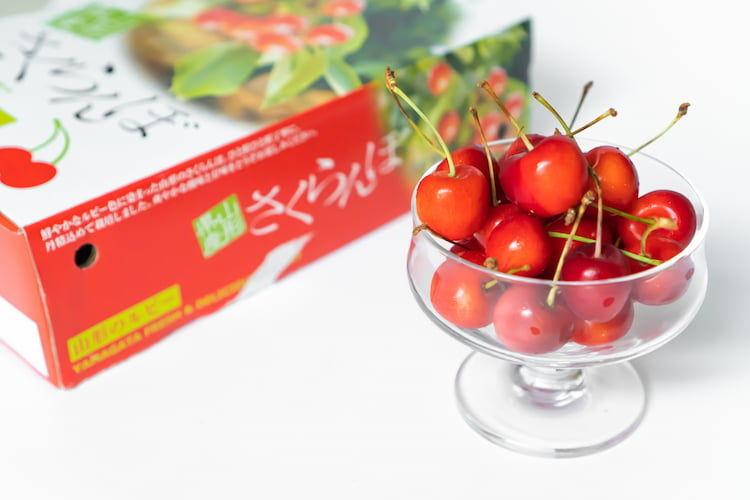 桜桃「紅秀峰」の収穫時期は? 品種の特徴と、超大玉化を目指す栽培技術