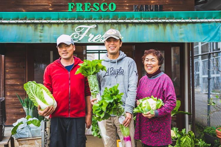 横浜・苅部農園のユニークネス経営|週12時間「旬の露地野菜だけの直売所」と「苅部ブランド」で勝負