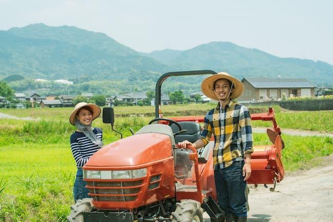 Iターンで新規就農した夫婦