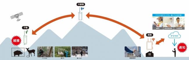「くまもと☆農家ハンター」が導入した「オリワナシステム」