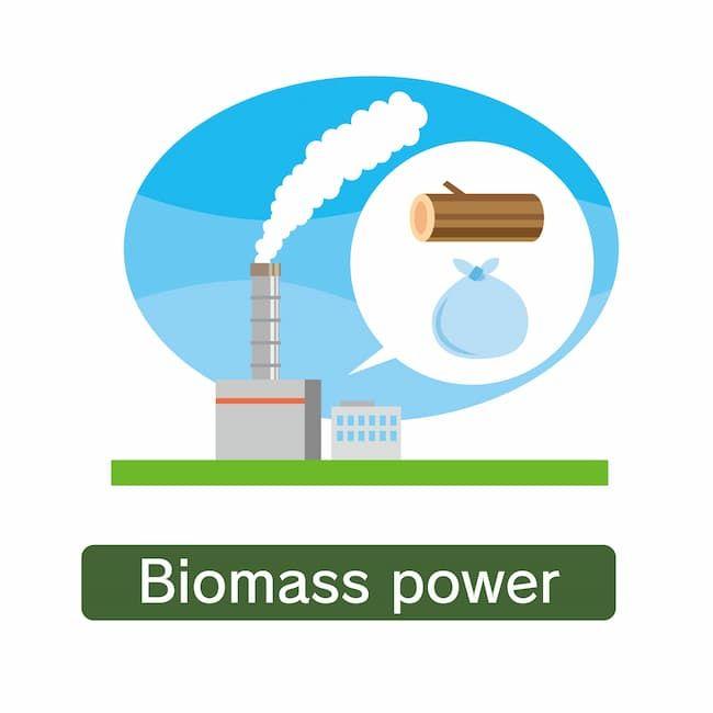 廃棄物や生物資源を燃やしてエネルギー化するバイオマス発電
