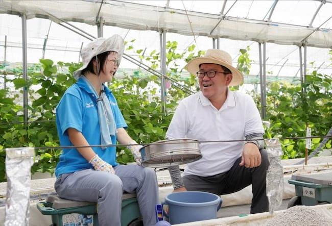 障害者雇用支援の株式会社エスプールプラスでは、企業向け貸し農園事業を2021年春に開始している